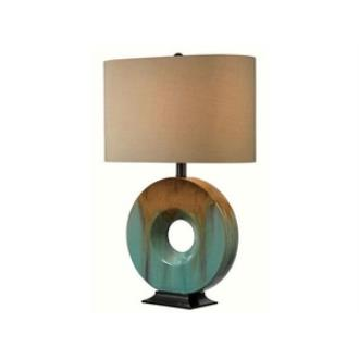 Kenroy Lighting 32184CG Sesame - One Light Table Lamp