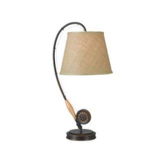 Kenroy Lighting 32193ORB Fly Rod - One Light Table Lamp