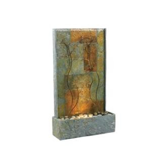 Kenroy Lighting 50379SL Copper Vines Floor Fountain