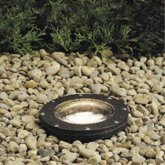 Kichler Lighting 15268AZ Line Voltage One Light Small In-Ground Well Lamp