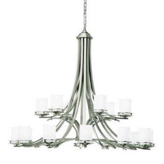 Kichler Lighting 1873NI Hendrik - Eighteen Light Two Tier Chandelier