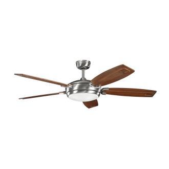 """Kichler Lighting 300156BSS Trevor - 60"""" Ceiling Fan"""