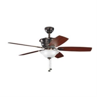 "Kichler Lighting 300159OBB Tolkin - 52"" Ceiling Fan"