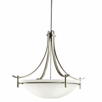 Kichler Lighting 3279AP Olympia - Five Light Inverted Pendant
