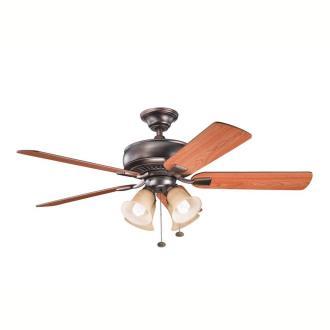 "Kichler Lighting 339401 Saxon Premier - 52"" Ceiling Fan"