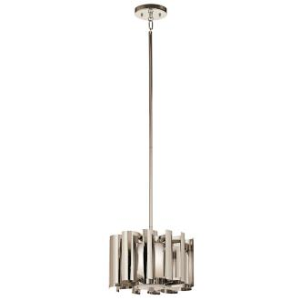 Kichler Lighting 42834PN Ziva - One Light Pendant