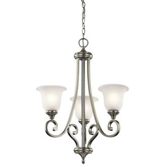 Kichler Lighting 43155NI Monroe - Three Light Chandelier