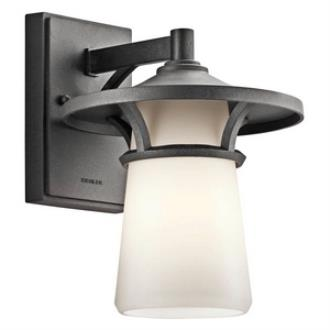 Kichler Lighting 49370AVI Lura - One Light Outdoor Wall Mount