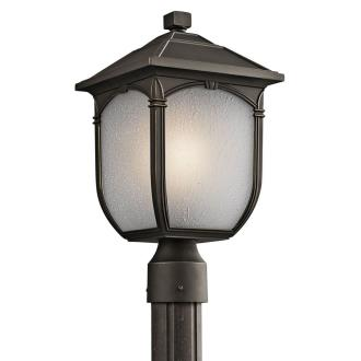 Kichler Lighting 49431RZ Lakeway - One Light Outdoor Post