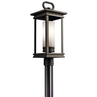 Kichler Lighting 49478RZ South Hope - One Light Outdoor Post