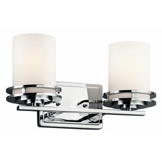Kichler Lighting 5077CH Hendrik - Two Light Bath Bar