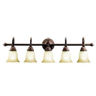 Kichler Lighting 5217TZG Larissa - Five Light Bath Strip