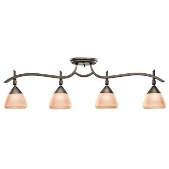 Kichler Lighting 7703OZ Olympia - Four Light Fixed Rail