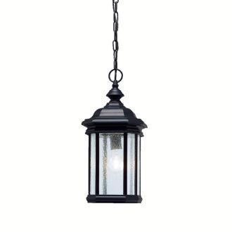 Kichler Lighting 9810BK Kirkwood - One Light Outdoor Pendant