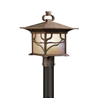 Kichler Lighting 9920DCO Morris - One Light Outdoor Post Mount