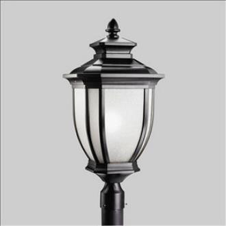 Kichler Lighting 9940BK Salisbury - One Light Outdoor Post Mount
