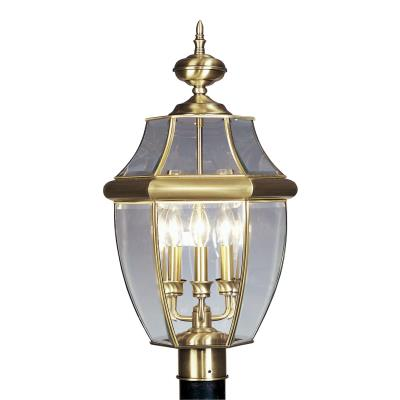 Livex Lighting 2354 Monterey - Three Light Outdoor Post Light