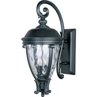 Maxim Lighting 41426WGBK Camden VX - Three Light Outdoor Wall Mount