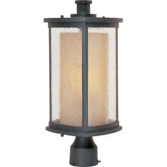 Maxim Lighting 85650CDWSBZ Bungalow EE - One Light Outdoor Post Lantern