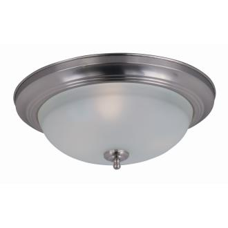 Maxim Lighting 85842 Three Light Flush Mount