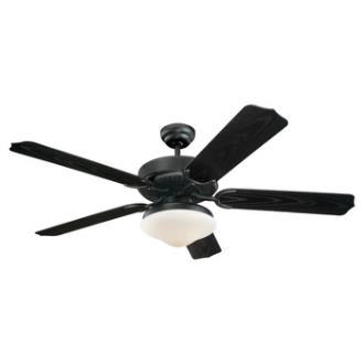 Monte Carlo Fans 5WF52BKD-L Weatherford Deluxe - 52'' Outdoor Ceiling Fan