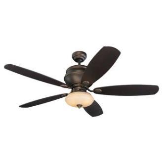 Monte Carlo Fans 5WS52RBD-L Weatherstar Outdoor Ceiling Fan