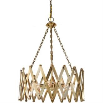 Feiss F2902/4BLB Hugo - Four Light Pendant