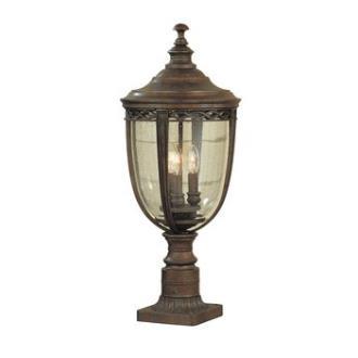 Feiss OL3008BRB Pier/Post Lantern