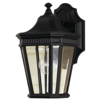 Feiss OL5400BK Cotswold Lane - One Light Outdoor Wall Lantern
