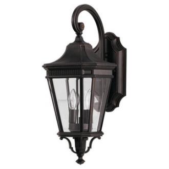 Feiss OL5401GBZ Cotswold Lane - Two Light Outdoor Wall Lantern