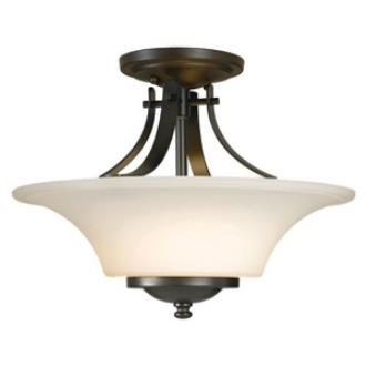 Feiss SF241ORB Barrington - Two Light Semi-Flush Mount