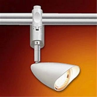 Nora Lighting NRS36-102S Argon Swivel - One Light Sloped Conical Track Head