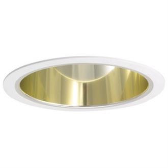 "Nora Lighting NTA-96 Accessory - 6"" Wall Wash Eyelid with Cone Reflector"