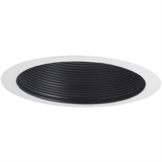 "Nora Lighting NTM-713BAL Accessory - 6"" Air-Tight Baffle Cone with Flange"
