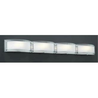 PLC Lighting 7848/CFL Millennium - Four Light Bath Vanity