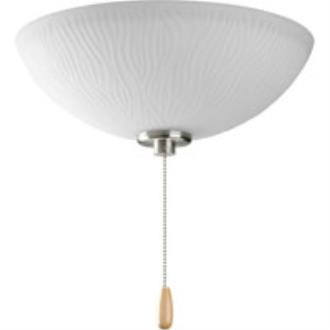 Progress Lighting P2651-09 Riverside - Three Light Ceiling Fan Kit