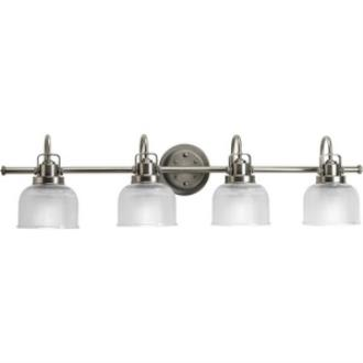 Progress Lighting P2997-81 Archie - Four Light Bath Bar