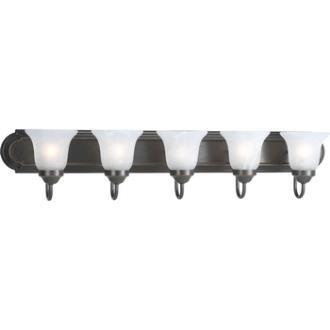 Progress Lighting P3055-20 Builder - Five Light Bath Bar