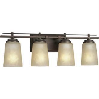 Progress Lighting P3095-88 Riverside - Four Light Bath Bar