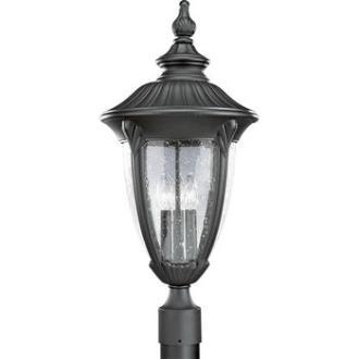 Progress Lighting P5420-31 Meridian - Three Light Outdoor Post