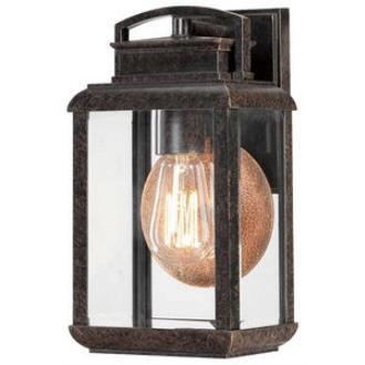 Quoizel Lighting BRN8406IB Byron - One Light Small Outdoor Wall Lantern