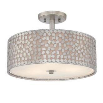 Quoizel Lighting CKCF1717OS Confetti - Three Light Semi-Flush Mount