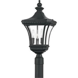 Quoizel Lighting DE9011K Devon - Three Light Large Post Lantern