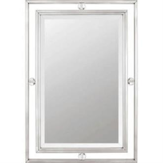 """Quoizel Lighting DW43222BN Downtown - 22"""" Small Mirror"""
