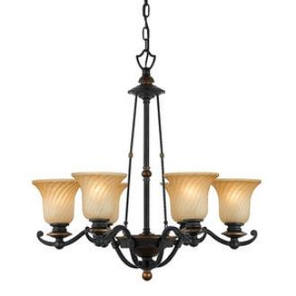 Quoizel Lighting GE5006SE Genova - Six Light Chandelier