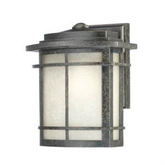 Quoizel Lighting GLN8409IB Galen - One Light Outdoor Wall Lantern