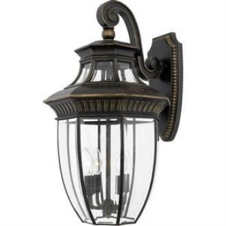 Quoizel Lighting GT8982IB Georgetown - Four Light Large Wall Lantern