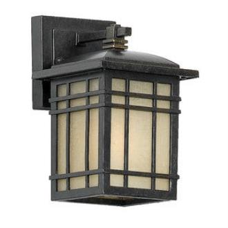 Quoizel Lighting HC8406IB Hillcrest - One Light Outdoor Small Wall Lantern