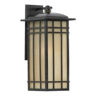 Quoizel Lighting HCE8409IB Hillcrest - One Light Outdoor Medium Wall Lantern