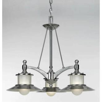 Quoizel Lighting NA5103BN New England - Three Light Dinette Chandelier